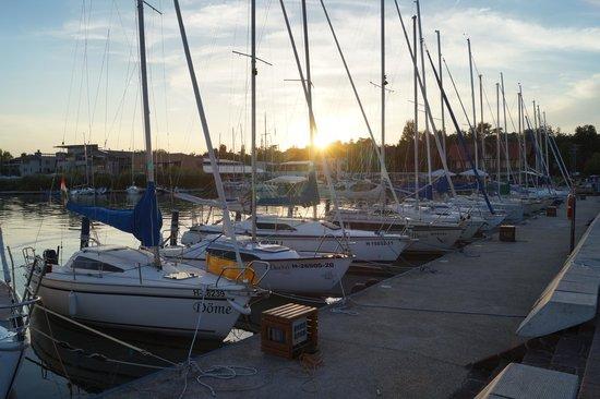 Lake Balaton: バラトンフレドのヨットハーバー