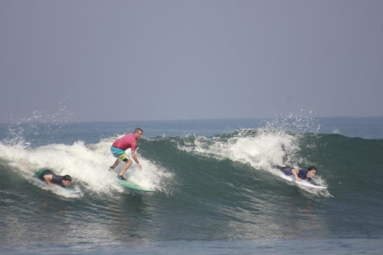 The Green Room Canggu: Surfing