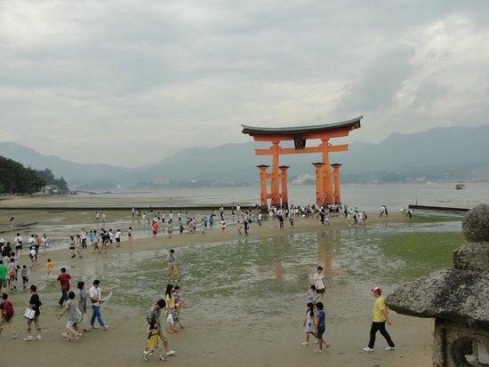 行ったときは満潮でした。: fotografía de Miyajima, Hatsukaichi - TripAdvisor