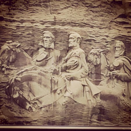 Stone Mountain Carving: Beautiful site!