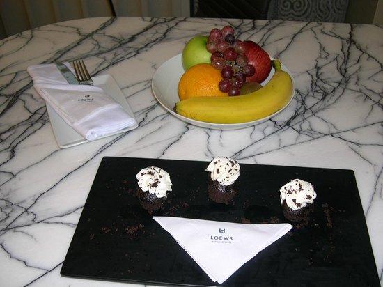 Loews Regency New York Hotel: Fruits