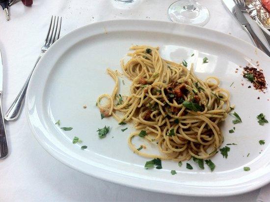 Da Cicciotto: Spaghetti al riccio