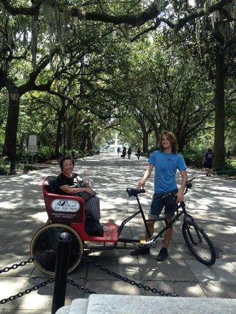 Savannah Pedicab : A wonderful day!