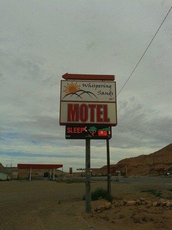 Whispering Sands Motel: ...pubblicita'...