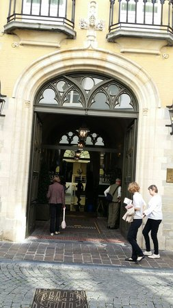 Grand Hotel Casselbergh Bruges: Great entrance
