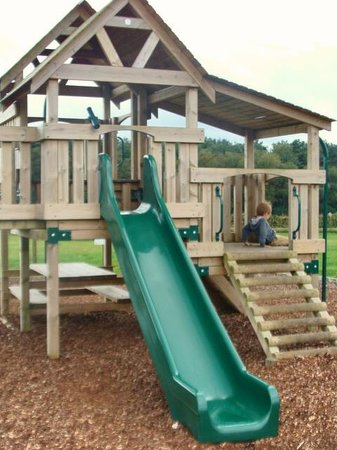 Matlock Farm Park: one of the playgrounds