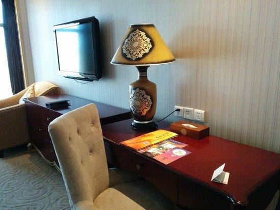 Xiamen Tegoo Hotel : Study table