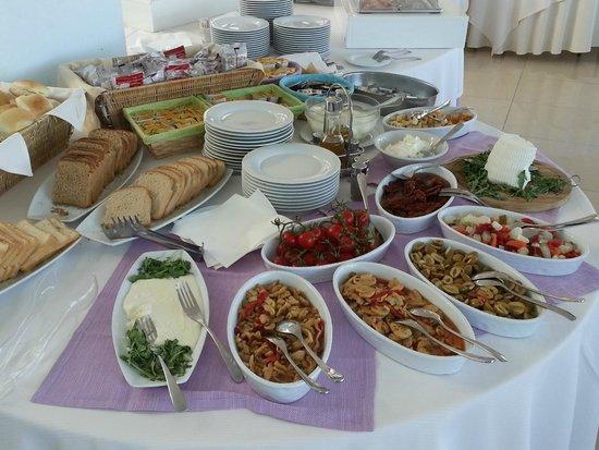 Grand Hotel Sofia: La colazione salata
