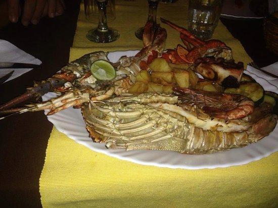 Bahati Villa: Cena di pesce ! �� ottimaaaa