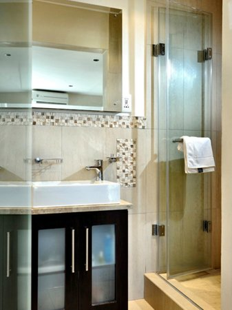 Oceana Palms Luxury Guesthouse: Mountain Room shower