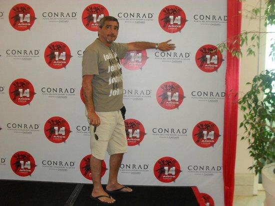Conrad Casino: para un cuadro, hermoso lugar