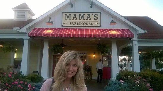 Mama's Farmhouse: My happy mama at Mama's