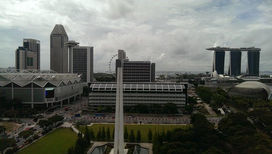 Swissotel The Stamford Singapore: View from the room