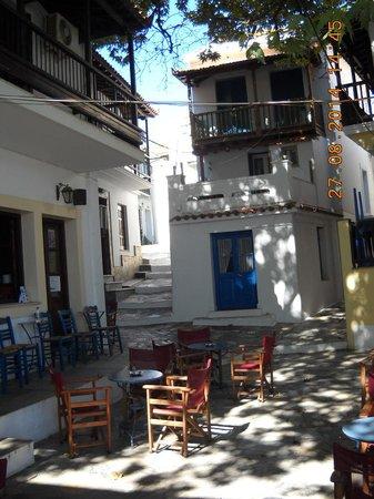 Bird Island: Old town Skopelos