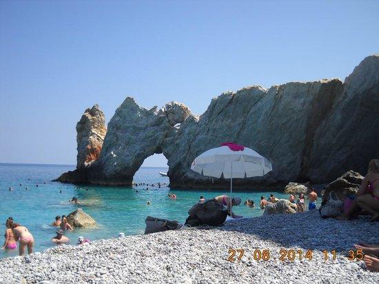 Bird Island: The most famous beach at Skiathos-Lalaria