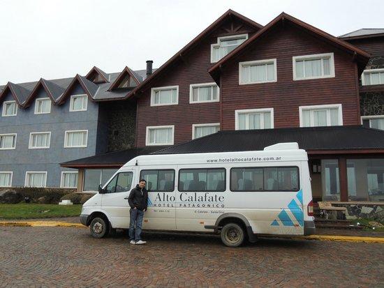 Alto Calafate Hotel Patagonico: Frente Hotel