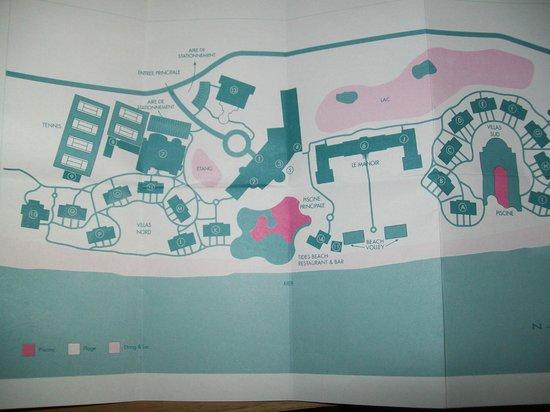 Sugar Beach Mauritius: plan de l'hôtel
