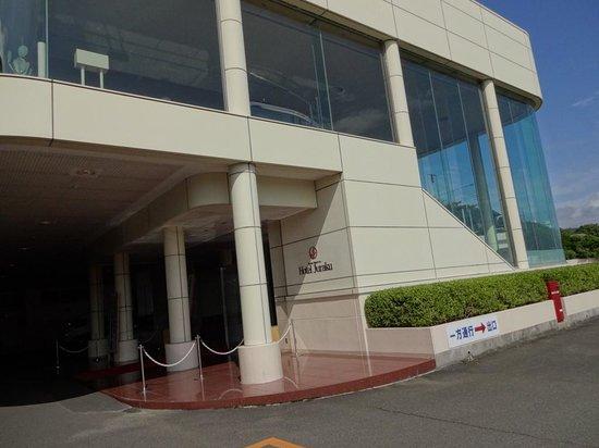 Ito Hotel Juraku : 入り口
