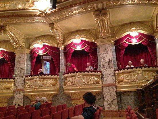 Royal Hall Theatre: Boxes at the Royal Hall