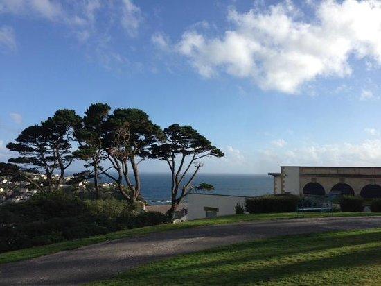 Fowey Hall: The view