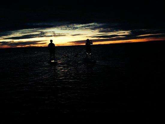 Great Turtle Kayak Tours: Sunrise is just starting