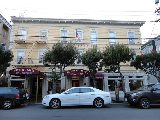 San Remo Hotel: esterno