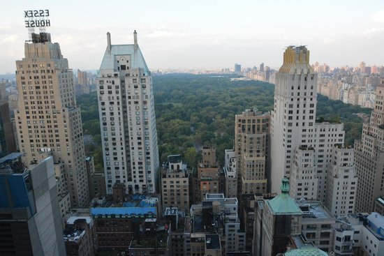 Le Parker Meridien New York: Rooftop view over Central Park