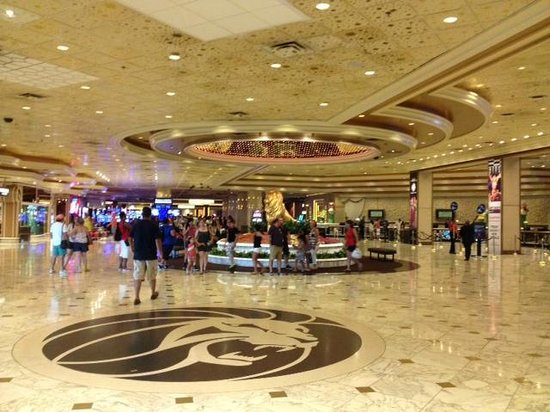 MGM Grand Hotel and Casino : Entrée du MGM