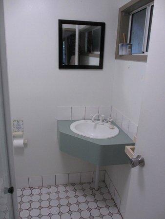 Ferntree Rainforest Lodge: Basic bathroom (shower only)