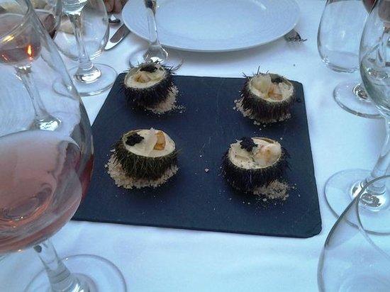 Restaurante El Pinar: Les 1/2 oursins