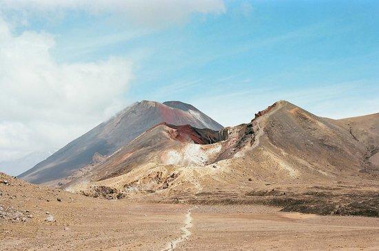Mt Ruapehu : Самый известный вид на вулкан