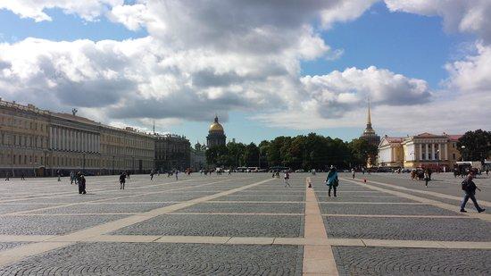 Petersburg Free Tour: alexander column square