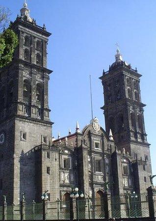 Catedral Basilica de Puebla : Catedral Puebla