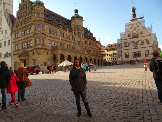 Rothenburg Town Hall (Rathaus): Rothemburg