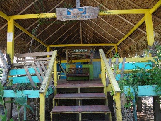 Amazon Tarzan Lodge: Entrée Pousada Jacaré