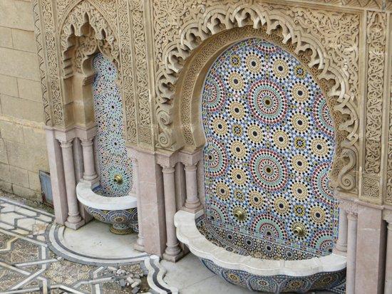 Mausoleum Mohammed V.: Intricate craftsmanship