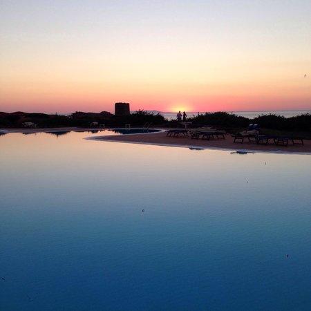 Hotel Relax Torreruja Thalasso & Spa : Tramonto