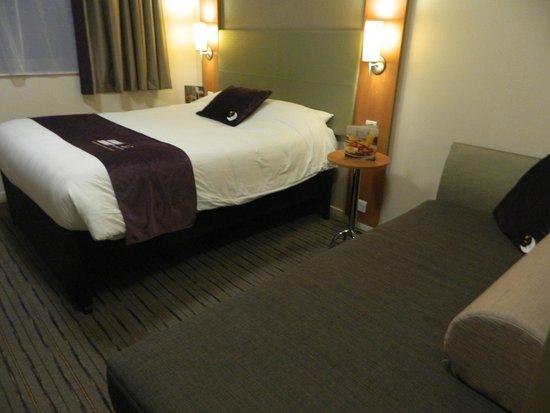 Premier Inn London Bank (Tower) Hotel: letto matrimoniale