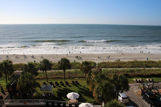 The Strand a Boutique Resort: View from our room