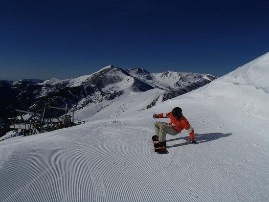 Vallnord Pal-Arinsal: Snowboarding in Arinsal, Andorra