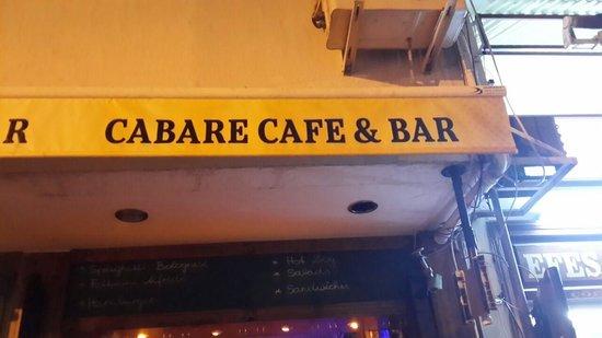 Cabare Restaurant: cabare resto pub