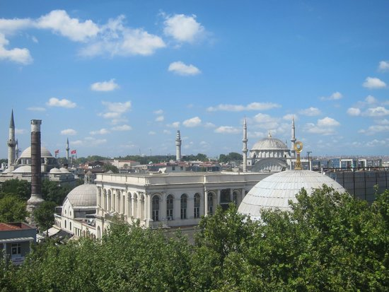 Pierre Loti Hotel: from the rooftop!