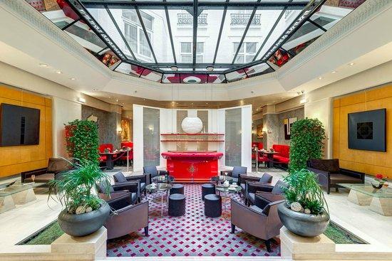 Hotel Astra Opera - Astotel : Verrière Salon