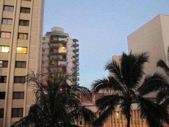 Waikiki Resort: view from the balcony