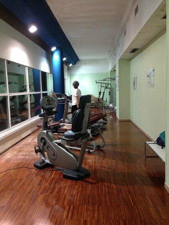 Giubileo Hotel: sala fitness