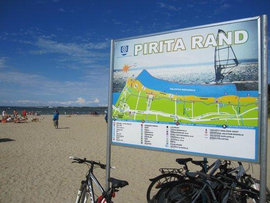 Pirita: Vista de la playa