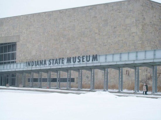 Indiana State Museum: Entrada al Museo