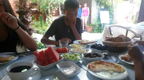 Hotel Villa Monte: Breakfast !