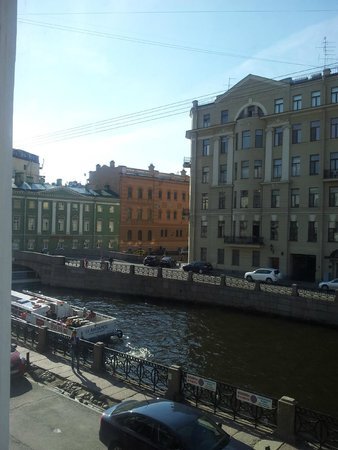 Pushka Inn Hotel: View from double room