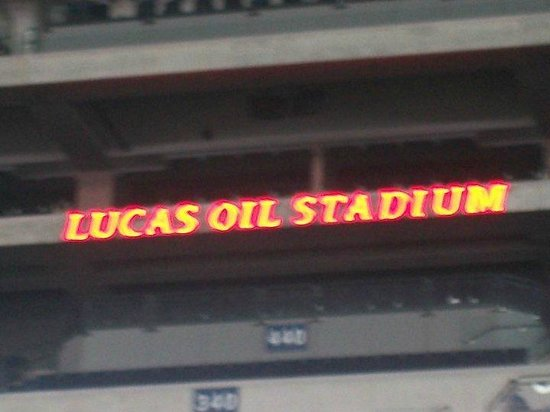 Lucas Oil Stadium: Cartel